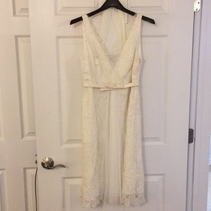 """White lace """"Hitherto"""" dress from BHLDN"""